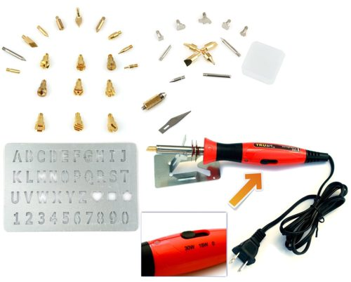 Wood Burner Tool Kit From Truart The Leather Query